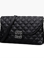 cheap -Women's Bags PU Shoulder Bag Crystals for Casual Black / Blushing Pink / Wine