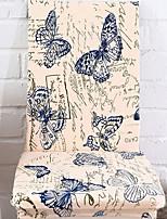 baratos -Moderna 100% Jacquard Poliéster Cobertura de Cadeira, Simples Floral Estampa Animal Estampado Capas de Sofa