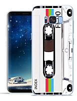 Недорогие -Кейс для Назначение SSamsung Galaxy S8 Plus / S8 / S7 edge С узором Кейс на заднюю панель Мультипликация Мягкий ТПУ