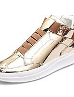 abordables -Homme Chaussures Cuir Printemps Automne Confort Basket pour Décontracté Or Noir Argent
