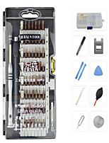 economico -Cellulare Kit di strumenti di riparazione Magnetica Pinzette Cacciavite angolare Cacciavite Ventosa Pompetta di gomma Plastica /