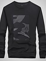 cheap -Men's Sweatshirt - Geometric, Print