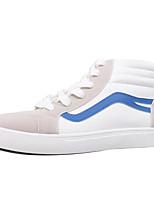 Недорогие -Муж. обувь Деним Весна Осень Удобная обувь Кеды для Повседневные Черный Красный Синий