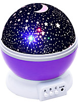 cheap -BRELONG® 1pc Sky Projector NightLight AAA Batteries Powered For Children Stress and Anxiety Relief Atmosphere Lamp