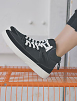 cheap -Men's Shoes PU Fall Winter Comfort Sneakers for Casual Black Gray