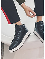 Недорогие -Муж. обувь Термопластик Зима Светодиодные подошвы Кеды для Повседневные Белый Черный Красный