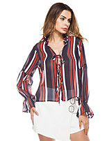 cheap -Women's Vintage Shirt Shirt Collar