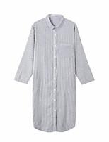 abordables -Chemises & Blouses Pyjamas Femme - Dentelle, Rayé