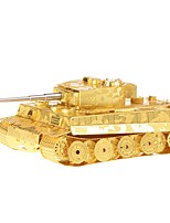 cheap -3D Puzzles Metal Puzzles Focus Toy Hand-made Metal 1pcs Standing Style Military Toy Tank Kid's Adults' Girls' Boys' Gift