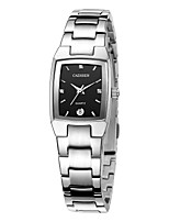 cheap -CADISEN Men's Quartz Dress Watch Fashion Watch Japanese Calendar / date / day Water Resistant / Water Proof Casual Watch Stainless Steel