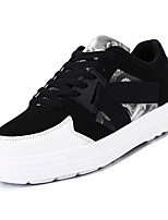 cheap -Men's Shoes Nubuck leather Spring Fall Comfort Sneakers for Athletic Black Rainbow