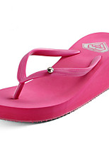 cheap -Ordinary Slippers Women's Slippers Polyester PVC solid color
