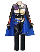 cheap -Inspired by Ensemble Stars Other Anime Cosplay Costumes Cosplay Suits Other Long Sleeves Coat Pants Gloves Cloak More Accessories Waist