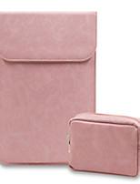 Недорогие -Рукава для Сплошной цвет Кожа PU MacBook 12''
