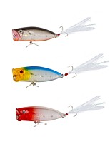 cheap -1pcs pcs Fishing Lures Hard Bait Bait Casting Spinning Jigging Fishing Freshwater Fishing General Fishing Lure Fishing Bass Fishing Carp