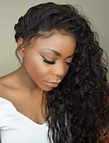 cheap -Human Hair Lace Front Wig Brazilian Hair Loose Wave Layered Haircut Bob Haircut With Baby Hair With Bangs 130% Density Unprocessed 100%
