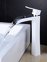 cheap -Faucet Set - Waterfall Centerset Single Handle One Hole