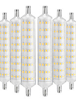 cheap -YWXLIGHT® 6pcs 12W 1000-1200 lm R7S LED Corn Lights 108 leds SMD 2835 Decorative Warm White AC 220-240V