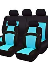 preiswerte -Autositzbezüge Sitzbezüge Hellblau Purpur Gelb Rose Grün Stoff Gestrickt Funktionell for Universal