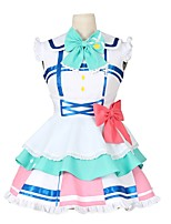 cheap -Inspired by Love Live Other Anime Cosplay Costumes Cosplay Suits Other Sleeveless Cravat Dress Socks Bow More Accessories For Men's