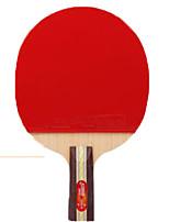 economico -DHS® 3006-3007 Ping-pong Racchette Gomma da cancellare 3 Stelle Manopola corta Brufoli