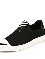 cheap -Men's Shoes Tulle Spring Fall Comfort Loafers & Slip-Ons for Casual Black
