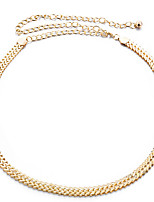 cheap -Women's Casual Alloy Chain - Solid Colored