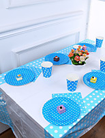 cheap -Birthday Party Party Tableware - Table Runners Patterned Plastics Birthday