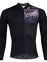 cheap -SPAKCT Long Sleeves Cycling Jersey - Black Bike