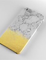 cheap -Case For Apple iPhone 6 Plus iPhone 7 Plus Pattern Back Cover Marble Hard PC for iPhone 7 Plus iPhone 7 iPhone 6s Plus iPhone 6s iPhone 6