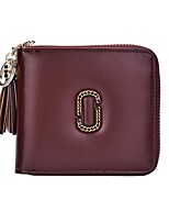 cheap -Women's Bags PU Wallet Tassel for Event / Party / Shopping Black / Brown / Wine