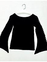 cheap -Women's Blouse - Solid Off Shoulder