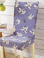 baratos -Moderna 100% Jacquard Poliéster Cobertura de Cadeira, Simples Floral Estampado Capas de Sofa