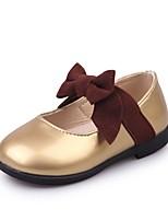 economico -Da ragazza Scarpe PU (Poliuretano) Di pelle Primavera Estate Comoda Ballerine per Casual Formale Oro Nero Rosa