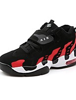cheap -Men's Shoes Synthetic Microfiber PU Spring Fall Comfort Sneakers for Casual Black/White Black/Red