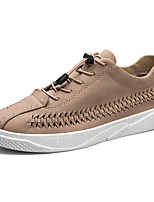 abordables -Homme Chaussures PU de microfibre synthétique Polyuréthane Similicuir Printemps Eté Confort Basket Marche pour Décontracté De plein air