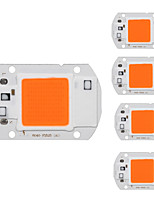 cheap -5pcs 220V Input Smart IC Bulb Accessory LED Chip Aluminum for DIY Plant Flower Seeding light