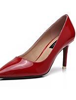 Недорогие -Жен. Обувь Искусственное волокно Весна Осень Удобная обувь Обувь на каблуках На шпильке Заостренный носок для Свадьба Повседневные Белый