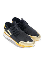 cheap -Men's Shoes Fabric Spring Fall Comfort Sneakers for Casual Black/Gold Black/Red