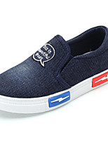 cheap -Girls' Boys' Shoes Canvas Spring Fall Comfort Loafers & Slip-Ons for Casual Dark Blue Light Blue