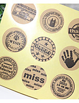cheap -Others Stickers, Labels & Tags - 9 Circular Stickers All Seasons