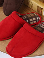 cheap -Ordinary Guest Slippers Slippers Women's Slippers Men's Slippers Cotton Velvet Cotton solid color