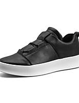 abordables -Homme Chaussures Similicuir Tulle Hiver Automne Confort Basket Marche pour Athlétique Décontracté Blanc Noir Rouge