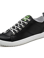 cheap -Men's Shoes PU Spring Fall Comfort Sneakers for Casual White Black Orange