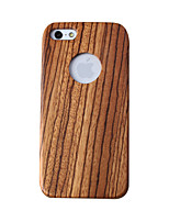economico -Custodia Per Apple Custodia iPhone 5 Resistente agli urti Integrale Simil-legno Resistente di legno per iPhone 5