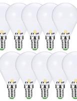 Недорогие -EXUP® 10 шт. 5 W 400-450 lm E14 / E26 / E27 Круглые LED лампы G45 12 Светодиодные бусины SMD 2835 Тёплый белый / Холодный белый 110-130 V