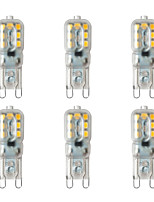 cheap -BRELONG® 6pcs 2W 200 lm G9 LED Bi-pin Lights 14 leds SMD 2835 Warm White White 220-240V