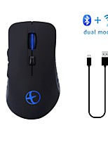 cheap -E1801 Wireless 2.4GHz Bluetooth4.0 Silent Mouse Office Mouse Gaming Mouse Gaming Rechargeable DPI Adjustable Backlit Multifunction