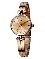 cheap -Women's Quartz Bracelet Watch Fashion Watch Chronograph Alloy Band Luxury Minimalist Silver Rose Gold