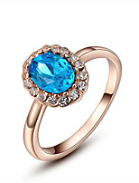 cheap -Women's Band Ring Gold Gold Plated Elegant Party Birthday Daily Costume Jewelry